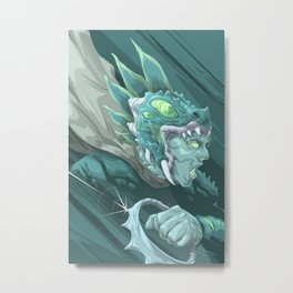 The Dragon Fang Spectre Metal Print
