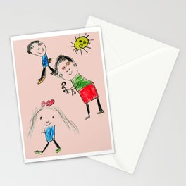 My Family Stationery Cards
