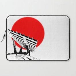 Barna Love Red Sun Laptop Sleeve