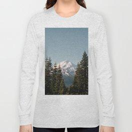 Mt Shasta Morning Long Sleeve T-shirt