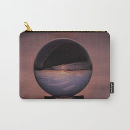 Wispy Clouds In A Crystal Ball Carry-All Pouch