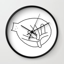 Cat 79 Wall Clock