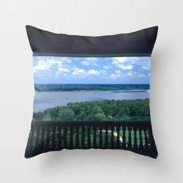 Natchez Lookout Throw Pillow