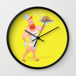 Ivo cook Wall Clock