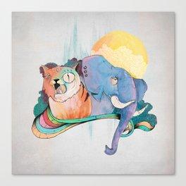 THAI FRIENDS Canvas Print
