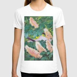 Koloman Moser Chestnut Leaves T-shirt