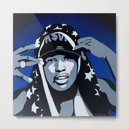 A$AP Rocky Metal Print