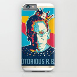 Vintage Notorious RBG tshirt Ruth Bader Ginsburg court iPhone Case