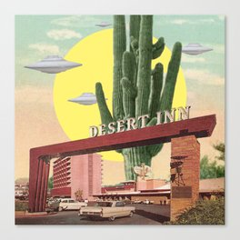 Desert Inn Canvas Print