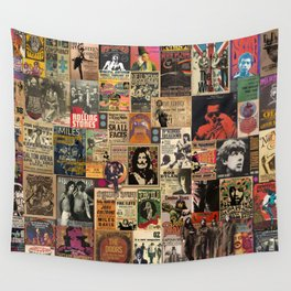 Rock'n Roll Stories Wall Tapestry
