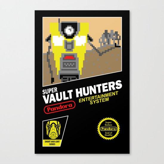 Super Vault Hunters Canvas Print