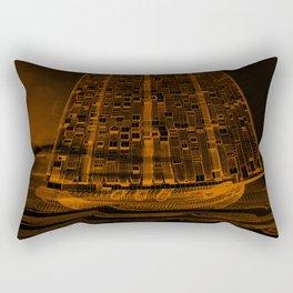 The Flying Dutchman / Legend, sepia Rectangular Pillow