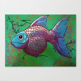 BETA FISH 2.0 Canvas Print