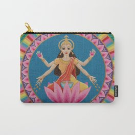 Goddess Lakshmi Mandala Carry-All Pouch