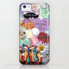 Miscellaneous - Abstract, Tumblr, Transparent, Stickers iPhone 5c Slim Case
