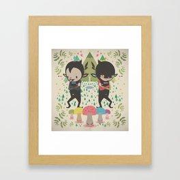 MAGIC LAVA 山 GOLD COINS Framed Art Print
