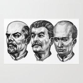 Lenin Stalin Putin Rug