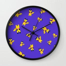 Yellow Rat Wall Clock