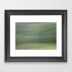 Green Whirlwind Framed Art Print