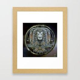 """Astrological Mechanism - Leo"" Framed Art Print"