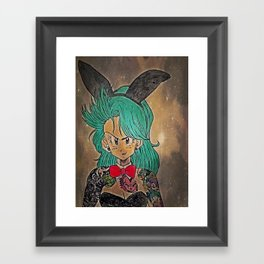 First Lady Of Dragon Ball Framed Art Print