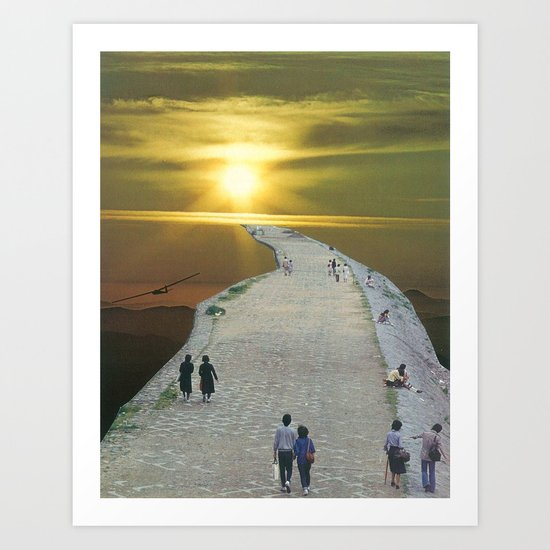 go for a walk in the park Art Print