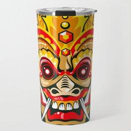Balinese mask / Bali / Barong #2 Travel Mug