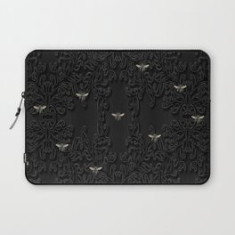 Black Bees and Lace Laptop Sleeve