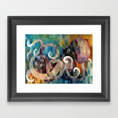 246 Framed Art Print