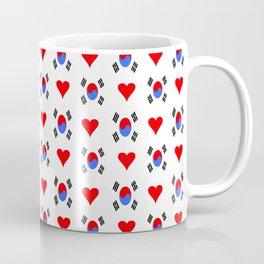 flag of south korea 3 -korea,asia, 서울특별시,부산광역시, 한국,seoul Coffee Mug