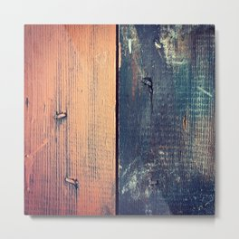 Barn Wood Metal Print