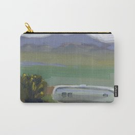 AIRSTREAM, Montana Travel Sketch by Frank-Joseph Carry-All Pouch