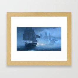 Smoke N' Oakum Framed Art Print