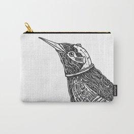 Robot Bird Branding Carry-All Pouch
