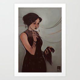 The Narcissist Art Print