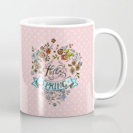 Hello Spring - by Fanitsa Petrou Coffee Mug