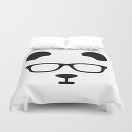 Nerd Panda Duvet Cover