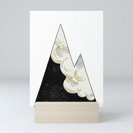 White as Milk, Red as Blood: Mountain Mini Art Print