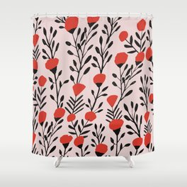growing up Shower Curtain