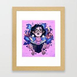 Sailor Mercury Framed Art Print