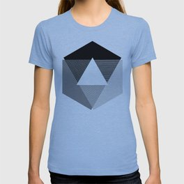 Grey Scale Print, design by Christy Nyboer T-shirt