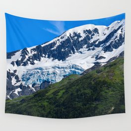 Whittier Glacier - 3 Wall Tapestry