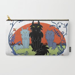 Fairy tale-like wolves Carry-All Pouch
