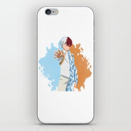 My Hero Academia Minimalist (Todoroki) iPhone Skin