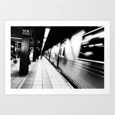 End of a Long Work Day... Art Print