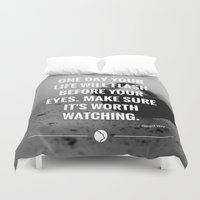 flash Duvet Covers featuring Flash. by Amazers