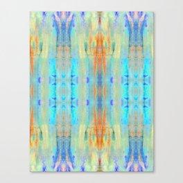 Aqua Crush Canvas Print