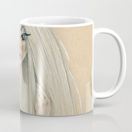 Messy hair dont care Coffee Mug