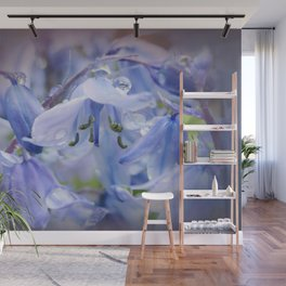 Bluebell Glade Wall Mural