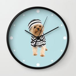 Bad Dog Wall Clock